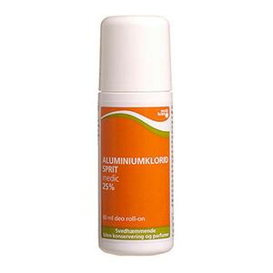 Aluminiumklorid, roll-on, 60 ml