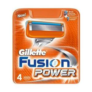 Gillette Fusion Power barberblade - 4 stk.