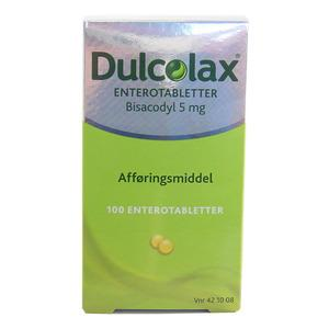 Dulcolax enterotabletter 5mg - 100 stk.