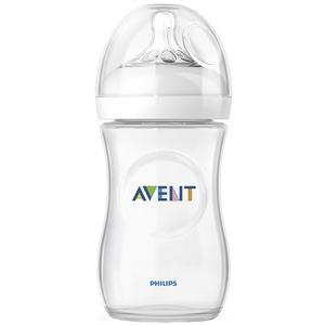Philips Avent Natural Sutteflaske m/sut (1 mdr+) - 260ml