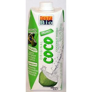 Isola Bio kokosvand fra Med24