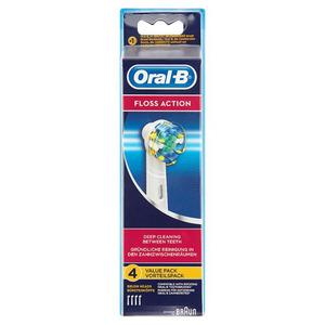 Oral-B Floss Action børstehoveder - 4 stk.