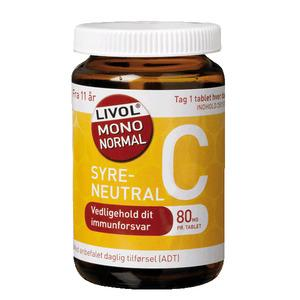Livol Mono Normal C 80mg - 280 stk
