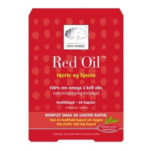 New Nordic Red Oil omega-3 krill olie