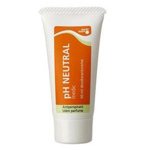 pH Neutral antiperspirant og deodorant (Creme) - 50ml