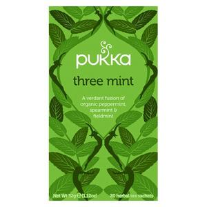 Pukka Three Mint tea Ø - 20 breve