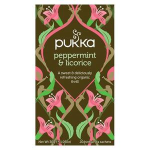 Pukka peppermint & Licorice te