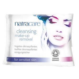 Natracare Makeup Fjerner Vådservietter 20 Stk