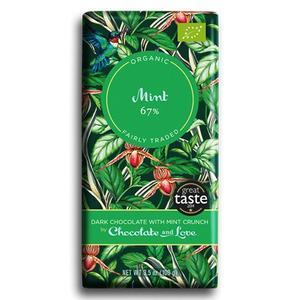 Chocolate And Love Chokolade Mint 67% Ø