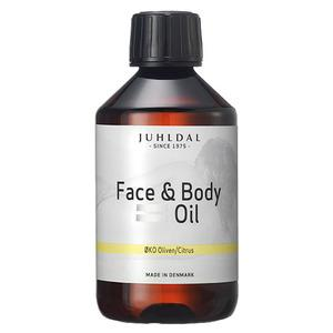 Juhldal Face & Body Oil ØKO Oliven/Citrus - 250 ml.