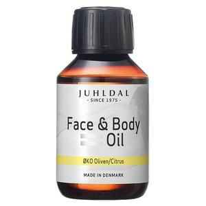 Juhldal Face & Body Oil ØKO Oliven/Citrus - 100 ml.