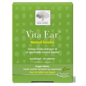 Billede af New Nordic Vita Ear - 30 tabl.