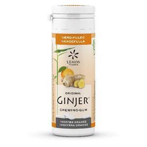 Lemon Pharma GINJER Ingefær Tyggegummi