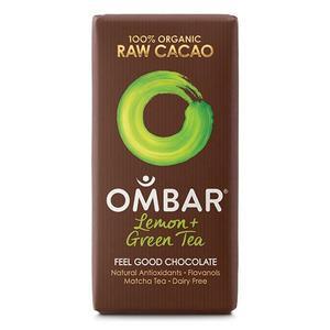 Billede af Ombar grøn te og lemon bar Ø - 35 g