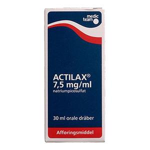 Actilax orale dråber 7,5 mg/ml - 30 ml