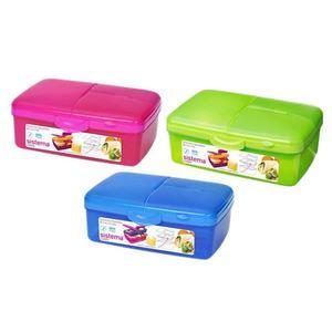 Sistema Slimline Quaddie Lunchbox 1.5 l