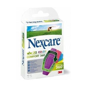 Nexcare Comfort Color 360 - 20 stk