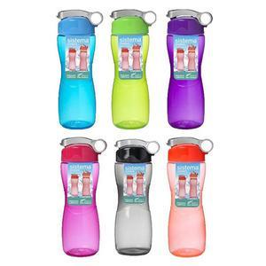 Sistema Hourglass drikkedunk 645 ml - Flere Farver