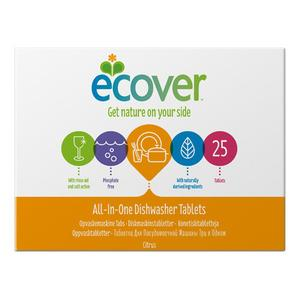 Ecover All in One Opvasketabs - 25 tabs