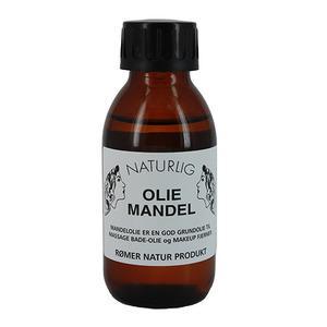Rømer naturlig mandelolie - 100 ml.