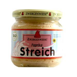 Zwergenwiese Streich Vegetabilsk Smørepålæg Paprika Ø