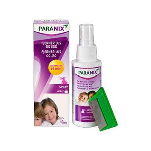 Paranix Spray med lussekam 100 ml
