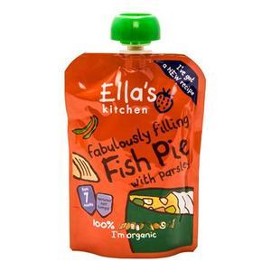 Ellas Kitchen Babymos Fiskekager Med Laks & Persille