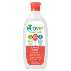 Ecover opvaskemiddel grape fruit & green tea - 450 ml.