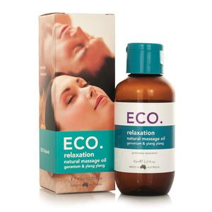 ECO. Afslappende Massageolie - 95 ml