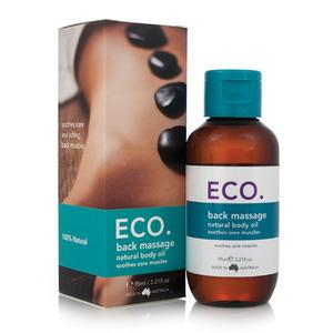 ECO. Massageolie til ryg - 95 ml
