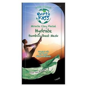 Earth Kiss Ansigtsmaske Miracle Clay - Sheet Mask - 1 stk