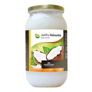 Billede af Cosmoveda Jomfru kokosolie Ø - 1 liter