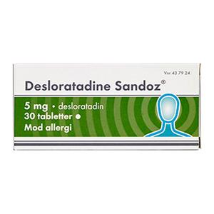 Desloratadin 5 mg - 30 tabletter