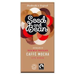 Seed And Bean Mælkechokolade 37% Kaffe Mocha Ø