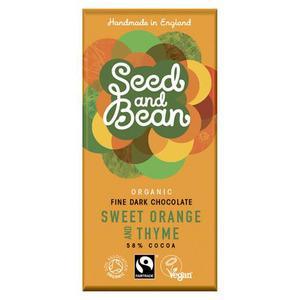 Seed & Bean mørk chokolade fra Med24