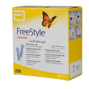 Freestyle lancetter - 200 stk.