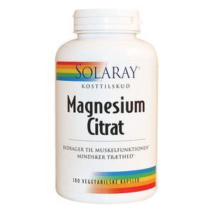 Solaray magnesium fra Med24