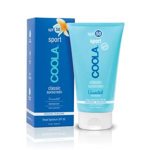 Coola SunCare Sport SPF50 Unscented - 148 ml.