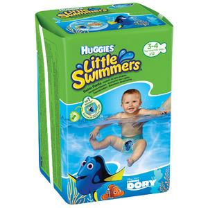 Huggies Little swimmers badeble (7-15 kg) - 12 stk