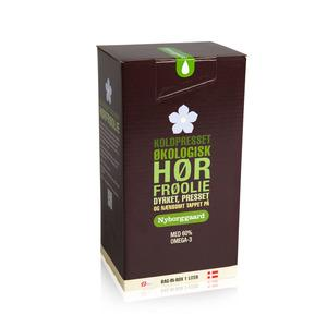 Billede af Nyborggaard Hørfrøolie Økologisk - 1000 ml