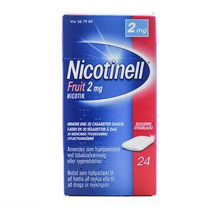 nicotinell tyggegummi bivirkninger