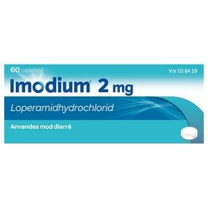 Imodium 2mg - 60 stk.