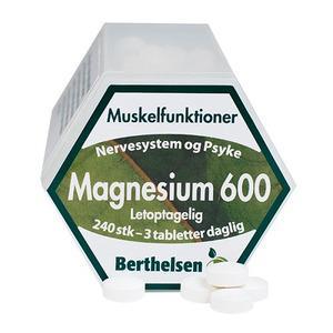 Berthelsen magnesium fra Med24