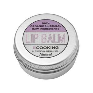 Ecooking Lip Balm Natural - 15 ml.