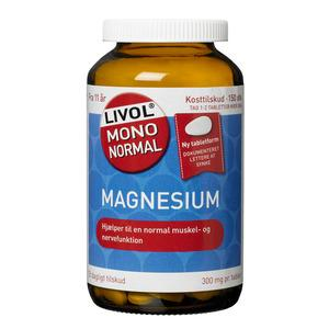 Livol mono normal Magnesium med 300 mg 150 tabletter - med24
