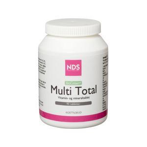 Billede af NDS Multi Total - multivitamin og mineral - 90 tab