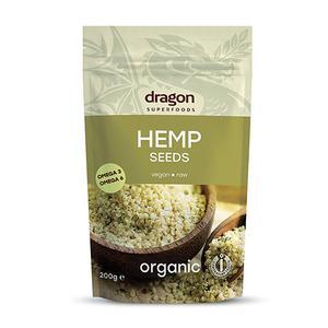Dragon Superfoods hampefrø fra Med24