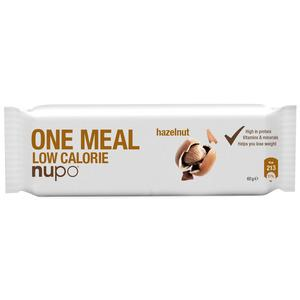 Nupo One Meal Replacement Bar - Hasselnød - 1 stk
