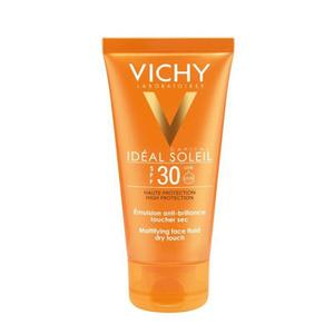 Vichy Idéal Soleil Face Dry Touch SPF30 - 50 ml solcreme til ansigtet