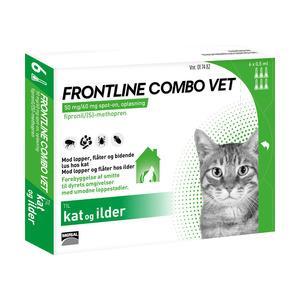 Frontline Combo, kat - 6 pipetter